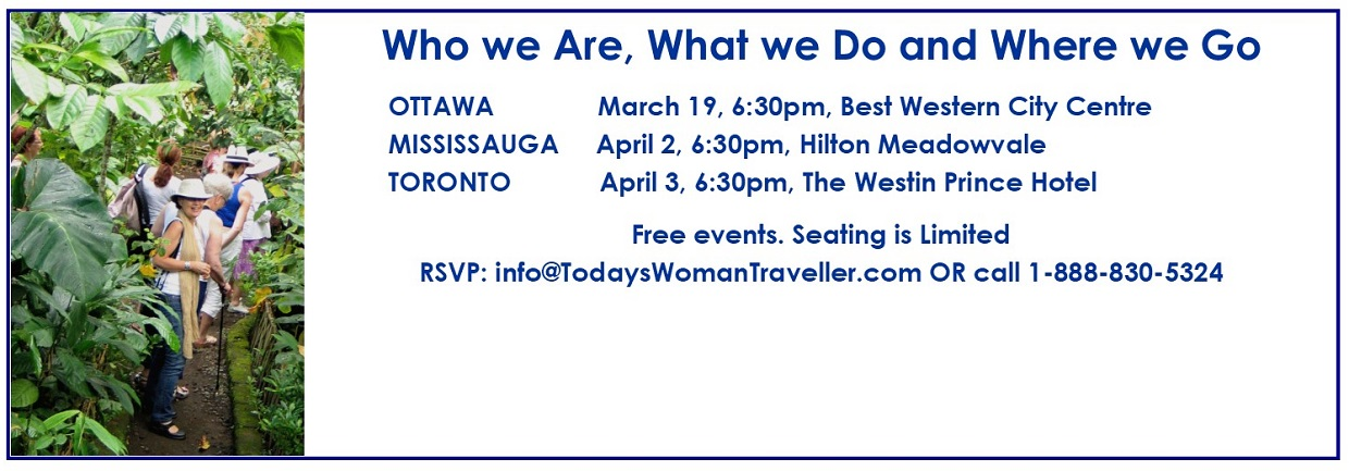 We invite you to meet us at one of our Spring Events: Ottawa, Mississauga, Toronto